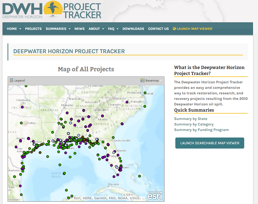 GOMA Project Tracker Website