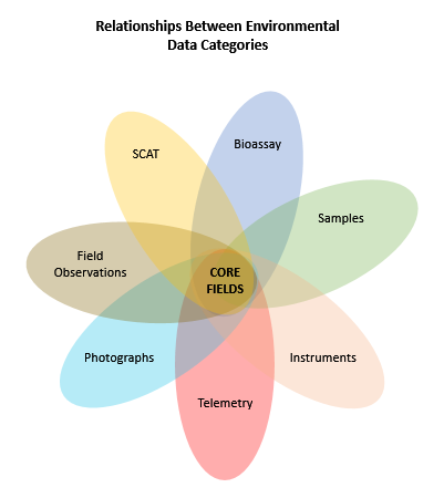 data relationships graphic